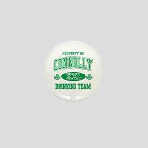 Connolly Irish Drinking Team Mini Button